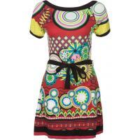 Smash CAROLA - Sukienka z dżerseju - czerwony SM421C027-G11