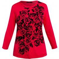 Monnari T-shirt zdobiony różami TSH2530