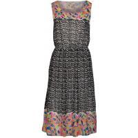 Yumi TROPICAL GEO Sukienka letnia czarny YU121C02F-Q11