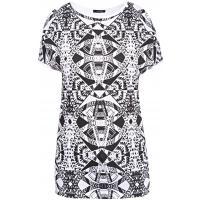 Monnari Wzorzysty t-shirt TSH4180