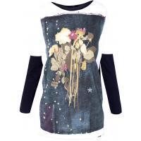 Monnari T-shirt z motywem z barwnymi kwiatami TSH3360