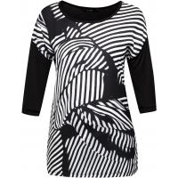 Monnari T-shirt w czarno-białej tonacji TSH3030