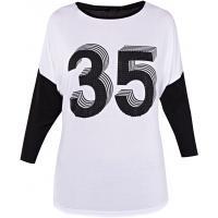Monnari T-shirt z liczbą TSH2690