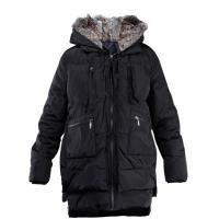 Monnari Pikowana kurtka z ciepłym kapturem JAC1020
