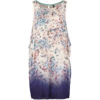 NAF NAF Sukienka letnia niebieski NA521C074-K11