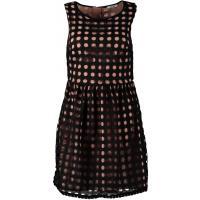 Brigitte Bardot Sukienka koszulowa czarny BB821C012-Q11