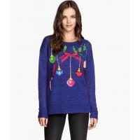H&M Świąteczny sweter 60455-A