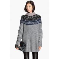 H&M Sweter z domieszką wełny 59052-A