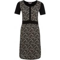 Anna Field Sukienka z dżerseju czarny AN621C0LR-Q11