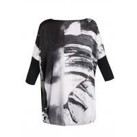 Monnari T-shirt z monochromatycznym nadrukiem TSH0930