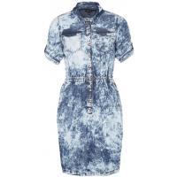 River Island CHARLIE Sukienka jeansowa niebieski RI921C017-K11