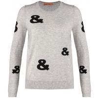 BOSS Orange WENDIE Sweter grey/black BO121I02Q-C11