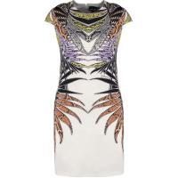 Just Cavalli Sukienka letnia weiss, lila, orange JU621C041-A11
