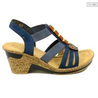 Sandały RIEKER 60661-14 blue 8020001