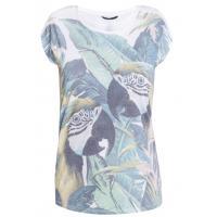 Monnari T-shirt z papugami TSH3720