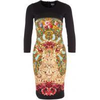 Just Cavalli Sukienka z dżerseju black JU621C03V-Q11