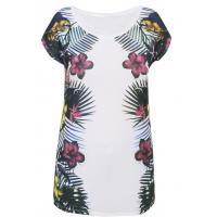 Monnari T-shirt z wielobarwnymi kwiatami TSH2270