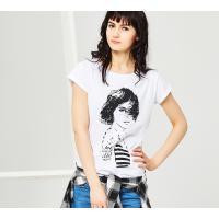 Reserved T-shirt z nadrukiem LE299-00X