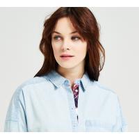 Reserved Jeansowa koszula LH040-05J
