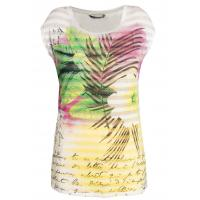 Monnari T-shirt z tropikalnym nadrukiem TSH3610