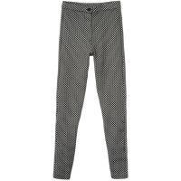 Topshop HONEYCOMB Spodnie materiałowe black TP721A01E-Q11