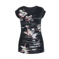 Monnari T-shirt z liliami TSH6350