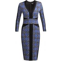 Just Cavalli Sukienka koktajlowa blau/schwarz JU621C04Y-K11