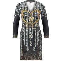 Just Cavalli Sukienka z dżerseju schwarz JU621C04R-Q11