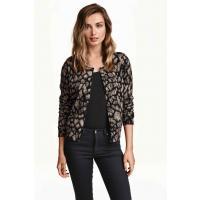 H&M Patterned cotton cardigan 0312714010 Mole