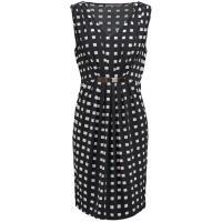 Anna Field Sukienka z dżerseju black AN621CA0A-Q11
