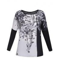 Monnari T-shirt z kwiatowym motywem TSH4420