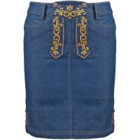 Anna Field Spódnica jeansowa denim blue AN621BA06-K11