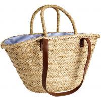 H&M Duża torba słomkowa 0280176001 Beżowy