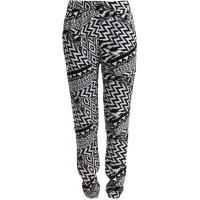 Even&Odd Spodnie materiałowe black/white EV421A03S-Q11