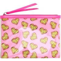 H&M Kosmetyczka 0192029053 Różowy/Serce