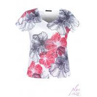 Monnari T-shirt z kwitnącymi kwiatami TSH2541