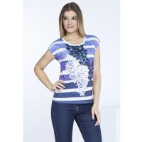 Monnari T-shirt z monochromatycznym printem TSH1380