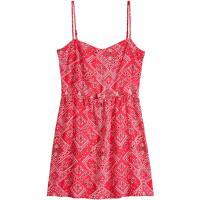 H&M Sukienka bez rękawów 0299337009 Czerwony/Wzór