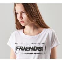 Reserved T-shirt YFL z aplikacją MT074-00X