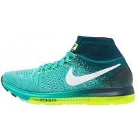 Nike Performance ZOOM ALL OUT FLYKNIT Tenisówki i Trampki wysokie clear jade/white/midnight turquoise N1241A0GX-A11