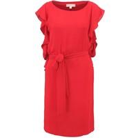 MICHAEL Michael Kors Sukienka letnia red blaze MK121C05W-G11