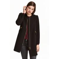 H&M Short coat 0390169002 Black