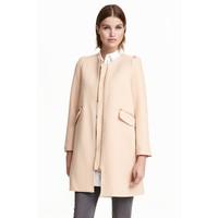 H&M Short coat 0390169002 Powder beige