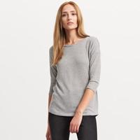 Reserved Prążkowany sweter o oversize QB512-01X