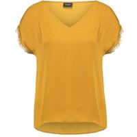Vila VISNILA T-shirt z nadrukiem wood thrush V1021D0C7-B12