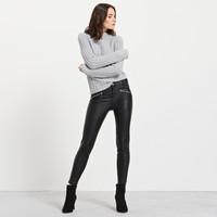 Reserved Spodnie z ekologicznej skóry PU533-99X