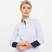 Reserved Koszula z kontrastową lamówką QD438-05X