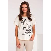 Monnari T-shirt w połyskujące plamki BLUIMP0-16Z-BLU4410-KM23D004-R0S