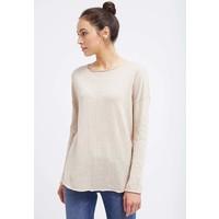 Zalando Essentials Sweter beige melange ZA821IA0J