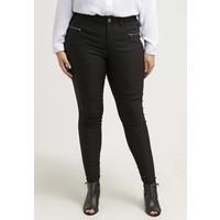 Zizzi Spodnie materiałowe black Z1721A00M